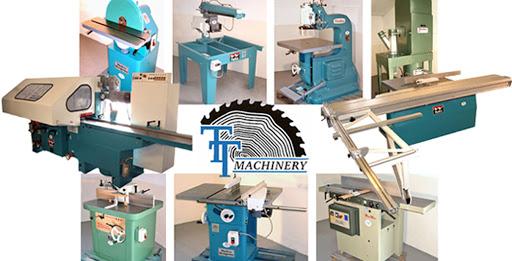 woodwork machine names